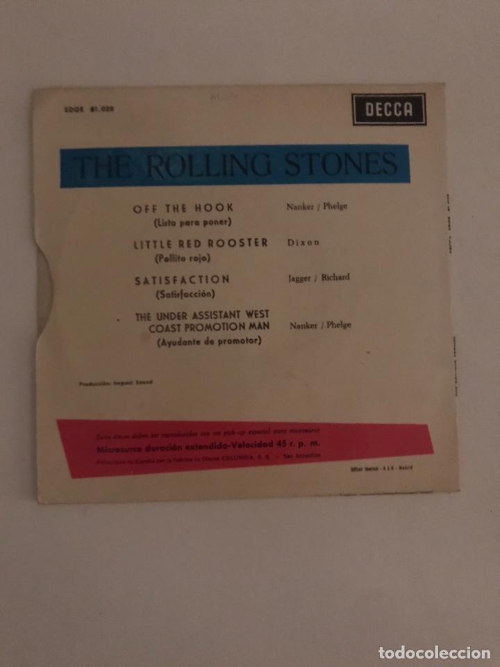 Discos de vinilo: Disco the roling stones decca sdge satisfaction - Foto 4 - 218633755