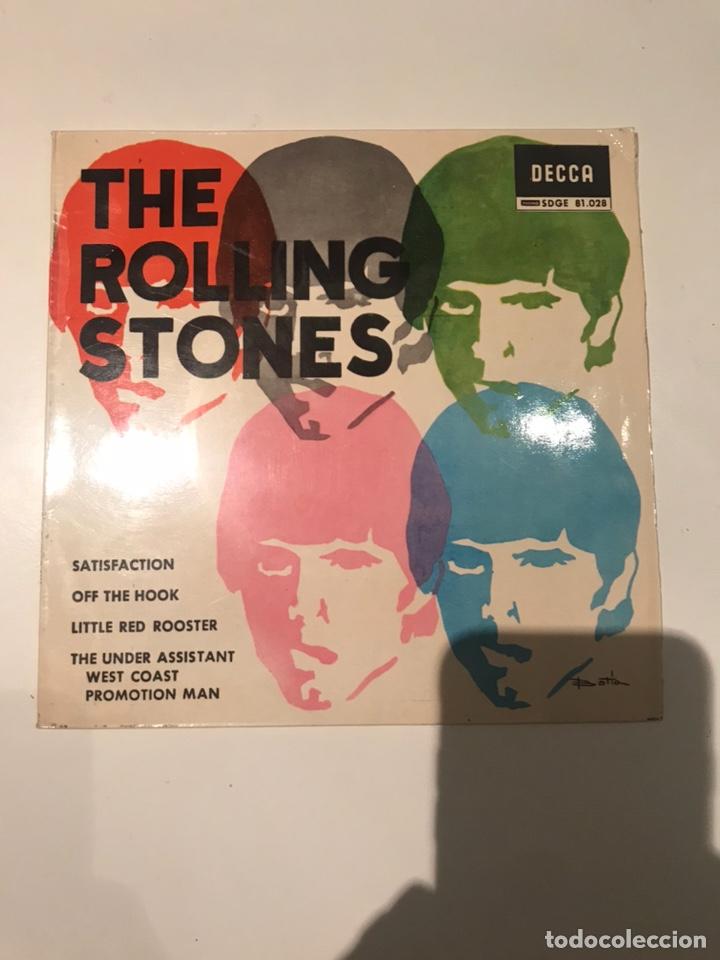 DISCO THE ROLING STONES DECCA SDGE SATISFACTION (Música - Discos de Vinilo - EPs - Pop - Rock Extranjero de los 70)