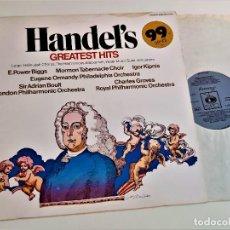 Discos de vinilo: VINILO HANDEL'S. Lote 218636177