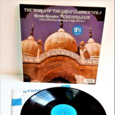 Discos de vinilo: VINILO THE WORLD OF THE GREAT CLASSICS. Lote 218636273