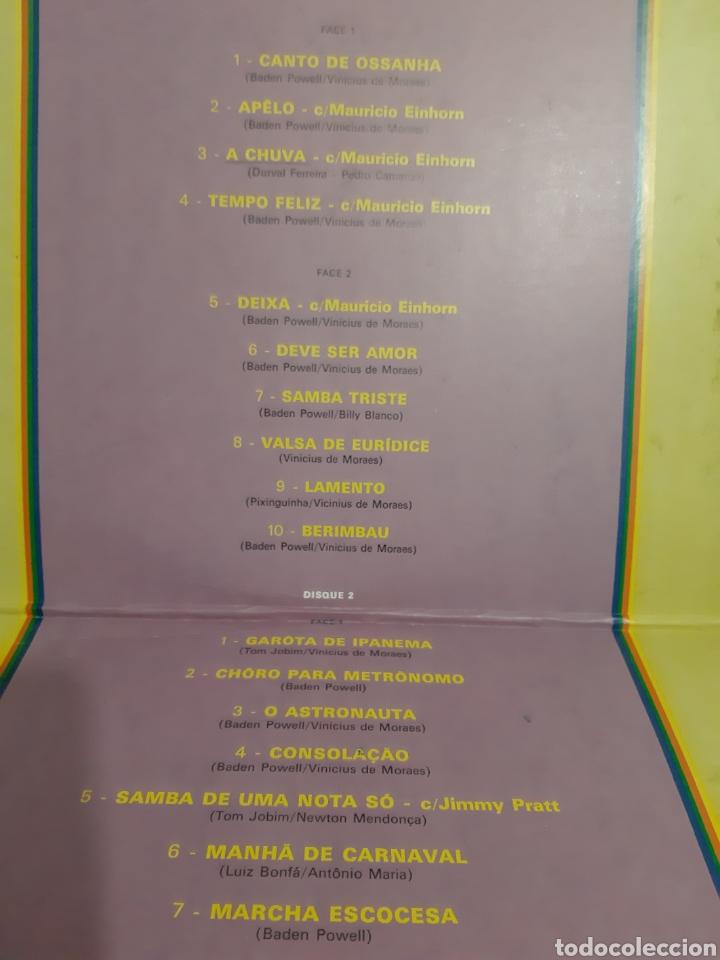 Discos de vinilo: DIFÍCIL! BADEN POWEL. 2LPS. PHILIPS. 1975. FRANCIA. - Foto 3 - 218636345