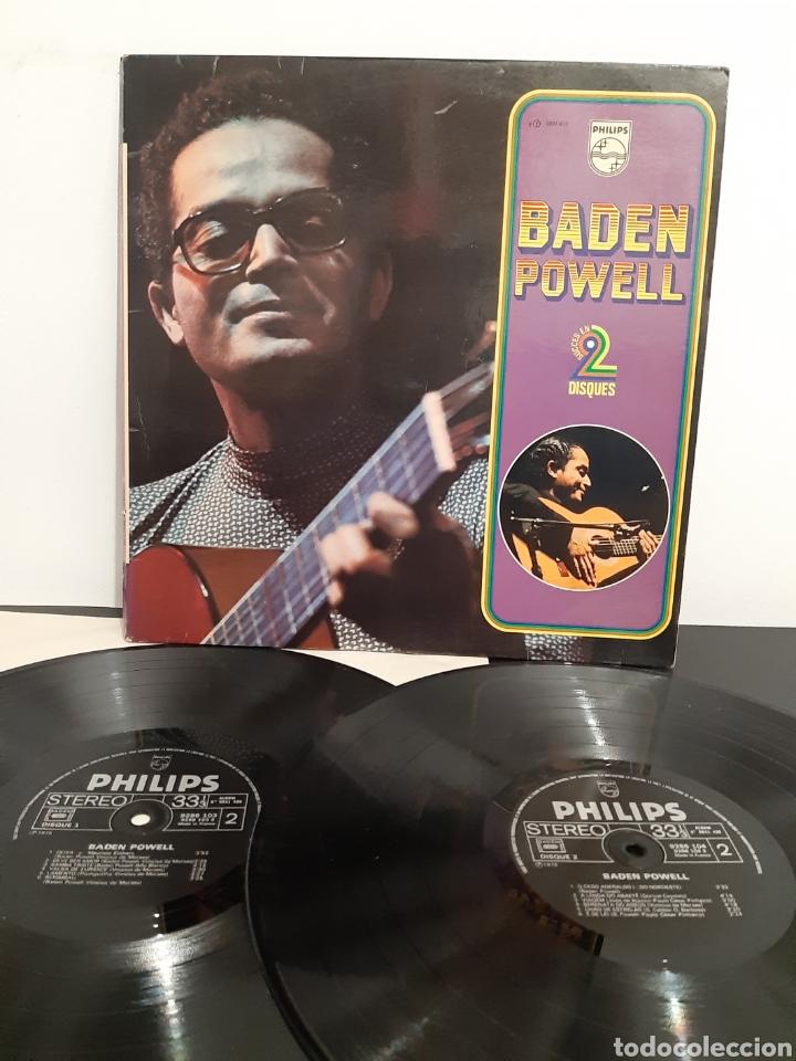 DIFÍCIL! BADEN POWEL. 2LP'S. PHILIPS. 1975. FRANCIA. (Música - Discos - LP Vinilo - Cantautores Extranjeros)