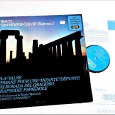 Discos de vinilo: VINILO RAVEL DAPHNIS & CHLOË. Lote 218636370