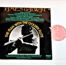 Discos de vinilo: VINILO THE MAN WITH THE GOLDEN FLUTE. Lote 231046195