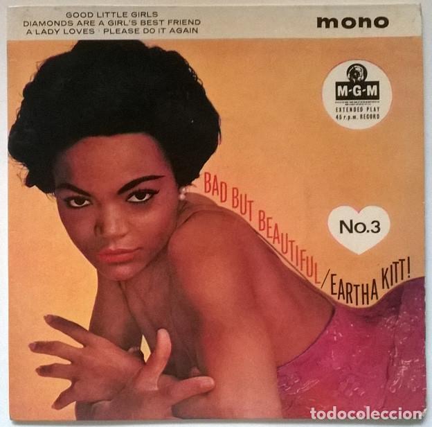 EARTHA KITT BAD BUT BEAUTIFUL N 3. GOOD LITTLE GIRLS/ DIAMONDS ARE/ A LADY LOVES/ PLEASE DO IT AGAIN (Música - Discos de Vinilo - EPs - Jazz, Jazz-Rock, Blues y R&B)