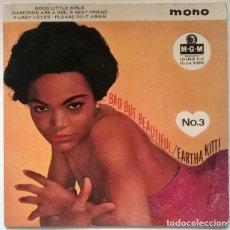 Discos de vinilo: EARTHA KITT BAD BUT BEAUTIFUL N 3. GOOD LITTLE GIRLS/ DIAMONDS ARE/ A LADY LOVES/ PLEASE DO IT AGAIN. Lote 218640188