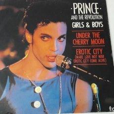 "Discos de vinilo: PRINCE GIRLS & BOYS 12"" UK 1986. Lote 218643751"