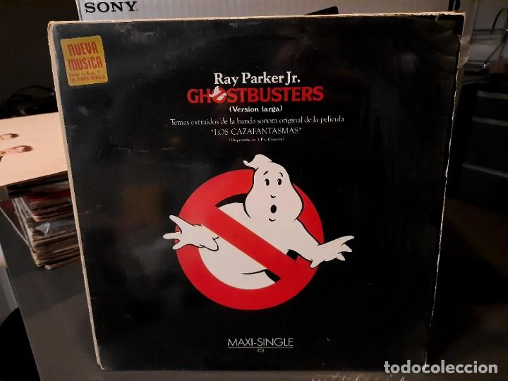 GHOSTBUSTERS - RAY PARKER JR. - MAXI SINGLE DEL SELLO ARISTA 1984 (Música - Discos de Vinilo - Maxi Singles - Bandas Sonoras y Actores)