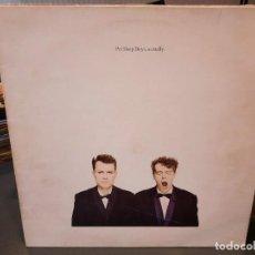 Discos de vinilo: PET SHOP BOYS - ACTUALLY - LP. DEL SELLO EMI DE 1987. Lote 218647377