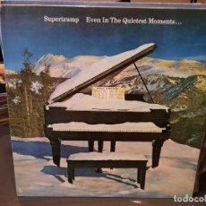Discos de vinilo: SUPERTRAMP - EVEN IN THE QUIETEST MOMENTS ... - LP. DEL SELLO A&M RECORDS DE 1977. Lote 218647615