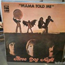 Discos de vinilo: THREE DOG NIGHT - MAMA TOLD ME - LP. DEL SELLO STATESIDE DE 1970. Lote 218647721