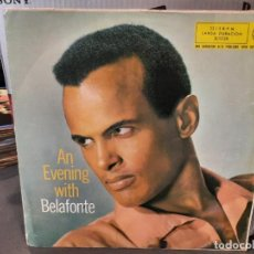 Discos de vinilo: BELAFONTE - AN EVENING WITH BELAFONTE - LP. DEL SELLO RCA DE 1960. Lote 218647836