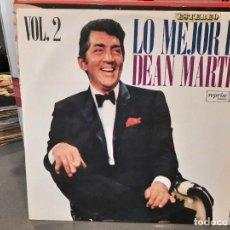 Discos de vinilo: DEAN MARTIN - LOE MEJOR DE DEAN MATIN,VOL. 2 - LP. DEL SELLO REPRISE DE 1969. Lote 218647892