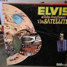 Discos de vinilo: ELVIS PRESLEY - ALOHA FROM HAWAII VIA SATÉLITE - DOBLE LP. DEL SELLO RCA DE 1973. Lote 218647963