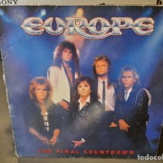 Discos de vinilo: EUROPE - THE FINAL COUNTDOWN - LP. DEL SELLO EPIC DE 1986. Lote 218648848