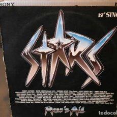 Discos de vinilo: HEAR ´N AID - STARS - MAXI SINGLE DEL SELLO MERCURY DE 1986. Lote 218648882