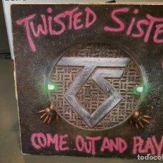 Discos de vinilo: TWISTED SISTER - COME OUT AND PLAY - LP. DEL SELLO ATLANTIC 1985. Lote 218648983