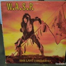 Discos de vinilo: W.A.S.P. - THE LAST COMMAND - LP. DEL SELLO CAPITOL / EMI DE 1985. Lote 218649047