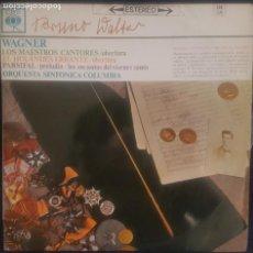 Discos de vinilo: WAGNER - LOS MAESTROS CANTORES, EL HOLANDES ERRANTE ....LP CBS 1963 / BUEN ESTADO RF-8642. Lote 218653503