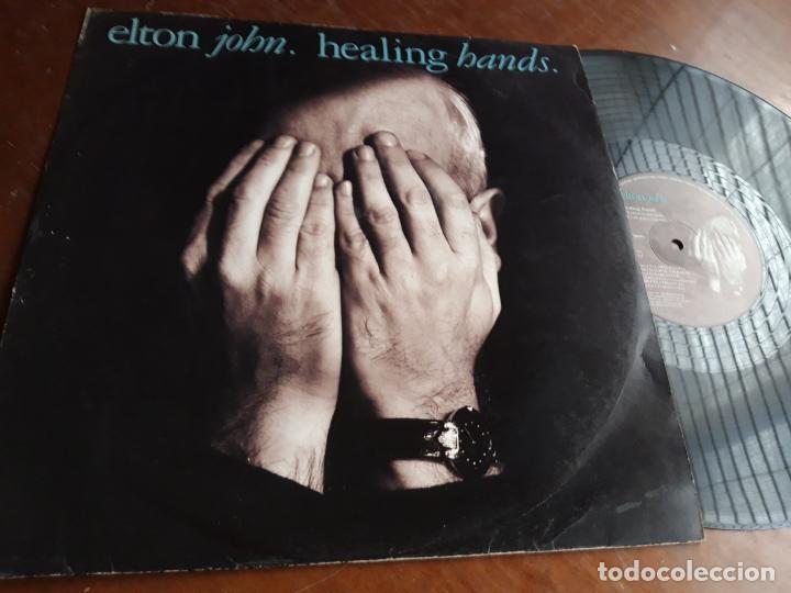 ELTON JOHN - HEALING HANDS - MAXI SINGLE (Música - Discos de Vinilo - Maxi Singles - Pop - Rock Extranjero de los 70)
