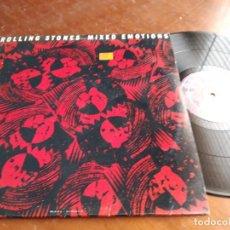 Discos de vinilo: ROLLING STONES* ?– MIXED EMOTIONS-MAXI-ESPAÑA-1989-CBS 655193 6. Lote 218663598