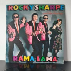 Discos de vinilo: ROCKY SHARPE. AND THE REPLAYS. RAMA LAMA. Lote 218666541