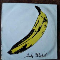 Discos de vinilo: THE VELVET UNDERGROUND & NICO- ANDY WARHOL - LP 1977 SPAIN. Lote 218666807
