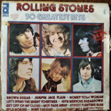 Discos de vinilo: THE ROLLING STONES - 30 GREATEST HITS - DOBLE LP 1977 SPAIN. Lote 218668316