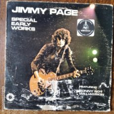 Discos de vinilo: JIMMY PAGE - SPECIAL EARLY WORKS - LP 1972. Lote 218668810