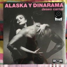 Discos de vinilo: ALASKA Y DINARAMA - DESEO CARNAL (1985) - LP + CD REEDICIÓN PARLOPHONE 2014 NUEVO. Lote 218668837