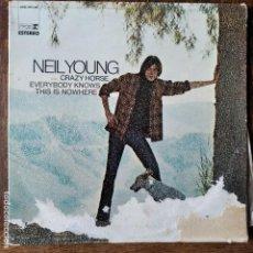 Discos de vinilo: NEIL YOUNG - TODOS SABEN QUE ESTO NO LLEVA A NADA - LP 1972 SPAIN. Lote 218668917