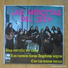Discos de vinilo: LAS MONJITAS DEL JEEP - UNA ESTRELLA DEL CIELO + 3 - EP. Lote 218669827
