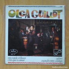 Discos de vinilo: OLGA GUILLOT - ESTA TARDE VI LLOVER + 3 - EP. Lote 218670030