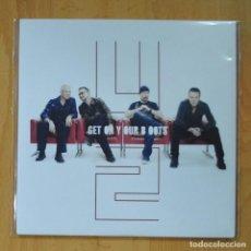 Discos de vinilo: U2 - GET ON YOUR BOOTS / NO LINE ON THE HORIZONS - SINGLE. Lote 218670031
