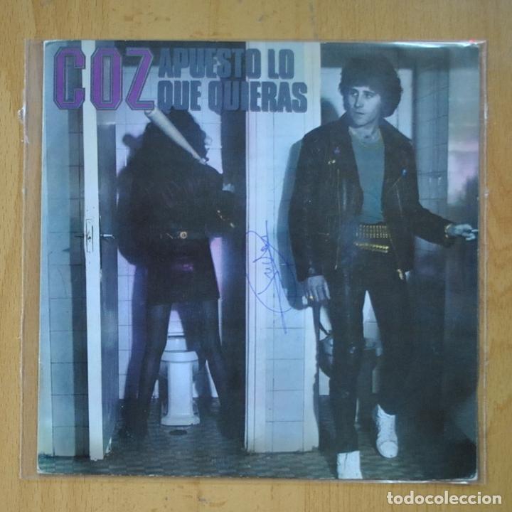 COZ - APUESTO LO QUE QUIERAS / JUEGA PARA GANAR - SINGLE (Música - Discos - Singles Vinilo - Heavy - Metal)