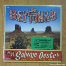 Disques de vinyle: LOS DAYTONAS - EN EL SALVAJE OESTE!!! - LA MANO DEL MUERTO + 3 - EP. Lote 218670111