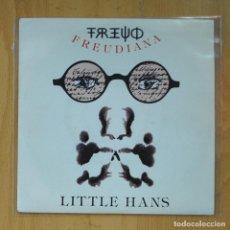 Discos de vinilo: THE ALAN PARSONS PROJECT - FREUDIANA / LITTLE HANS - SINGLE. Lote 218670202