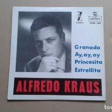 Discos de vinilo: ALFREDO KRAUS - GRANADA EP 4 TEMAS 1959. Lote 218673691