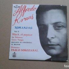 Discos de vinilo: ALFREDO KRAUS - ROMANZAS VOL 3 EP TEMAS 1959. Lote 218674646