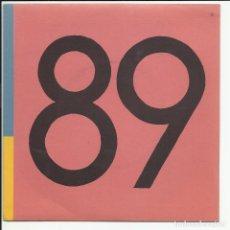 Discos de vinilo: AVENTURAS DE KIRLIAN SG DRO 1989 UN DIA GRIS/ PEZ LUNA LE MANS FAMILY LA BUENA VIDA ARAMBURU. Lote 218677380