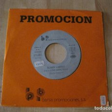 Discos de vinilo: SINGLE SLEEPY LABEEF SHE´S GONE GONE GONE PROMO UNA CARA BARSA PROMOCION NEO ROCKABILLY. Lote 218681860