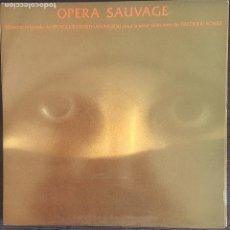 Discos de vinilo: OPERA SAUVAGE - VANGELIS, PAPATHANASSIOU. / LP POLYDOR 1980 / DOBLE PORTADA / BUEN ESTADO RF-8650. Lote 218682873