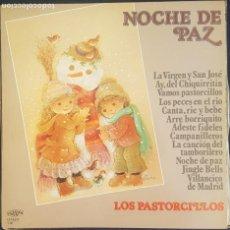 Discos de vinilo: LOS PASTORCILLOS - NOCHE DE PAZ, VAMOS PASTORCILLOS..../ LP PERFIL 1987 / BUEN ESTADO RF-8651. Lote 218682921