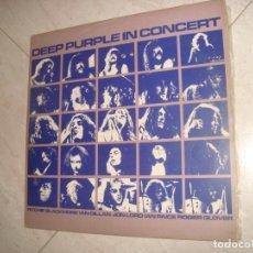 Discos de vinilo: DEEP PURPLE IN CONCERT 2 LP AÑO 1980. Lote 218684220