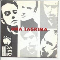 Discos de vinilo: BB SIN SED SG DRO 1989 PROMO UNA LAGRIMA/ PERDER LA FE BARCELONA ROCK N ROLL. Lote 218684335