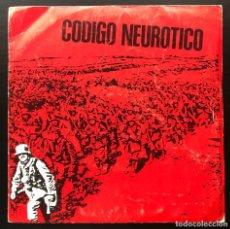 Discos de vinilo: CODIGO NEUROTICO CODIGO NEUROTICO - PROMOCIONAL - 002 EP 1983 VINILO VG+, CARPETA VG CON ENCARTE. Lote 218684365