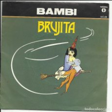 Discos de vinilo: BAMBI SG VICTORIA 1982 BRUJITA/ CARA DE ANGEL. Lote 218685608