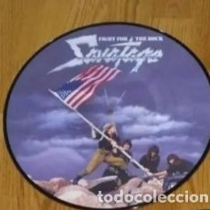 Discos de vinilo: VINILO SAVATAGE - FIGHT FOR THE ROCK. EDICIÓN LIMITADA PICTURE 2004.. Lote 218690528