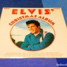 Discos de vinilo: CAJJ77 LP ELVIS PRESLEY UK AÑOS 70 CHRISTMAS ALBUM MUY BUEN ESTADO GENERAL. Lote 218696660