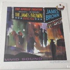 Discos de vinilo: JAMES BROWN LIVE AT THE APOLLO ED. NO OFICIAL NOT ON LABEL. Lote 218696965